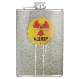 Petaca radiactivo kontaminiert