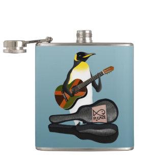 Petaca Rey pingüino Busking