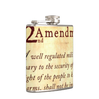 Petaca Segunda enmienda a la constitución de los E.E.U.U.