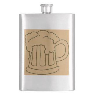 Petaca Taza de cerveza de la despedida de soltero