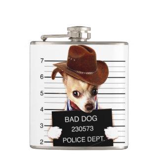 Petaca vaquero de la chihuahua - perro del sheriff