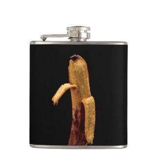 Petaca Vida pelada mitad del plátano aún