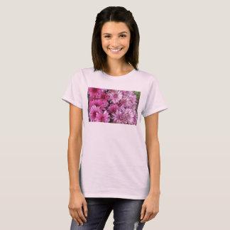 Pétalos rosados camiseta