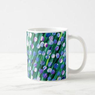 Pétalos suaves taza de café