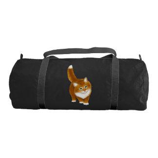 Petate anaranjado joven del gato de Tabby Bolsa De Deporte