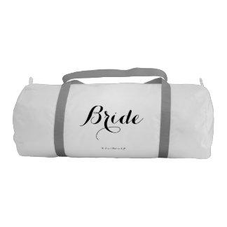 Petate de la novia bolsa de deporte