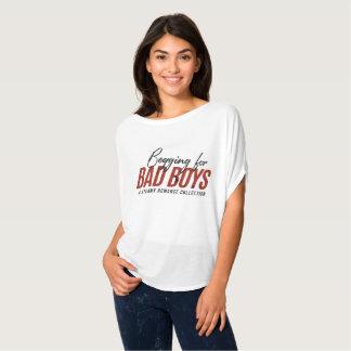 Petición camiseta desgarbada de los chicos malos