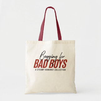 Petición tote del libro de los chicos malos bolso de tela