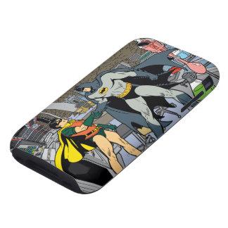 Petirrojo y apretón de manos de Batman Tough iPhone 3 Coberturas