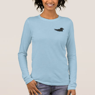 Petrel de la tormenta de la lixiviación (nadada) camiseta de manga larga