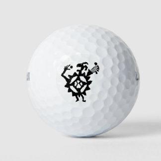 Petroglifo del comedor de la pelota de golf