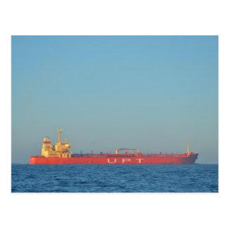 Petrolero del aceite y de la sustancia química postal
