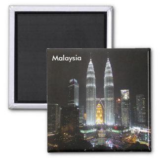 Petronas se eleva Malasia Imán Cuadrado
