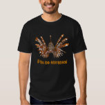 Pez León/Frito ningún Envenena Camiseta