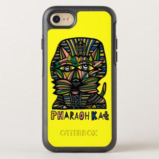 """Pharaoh Kat"" Apple y caso de Samsung Otterbox Funda OtterBox Symmetry Para iPhone 8/7"
