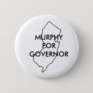 Phil Murphy para el gobernador 2017 de New Jersey Chapa Redonda De 5 Cm
