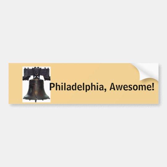 ¡Philadelphia, impresionante! Pegatina para el