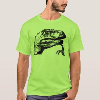 ¿Philosoraptor - rapaz del filósofo? Camiseta