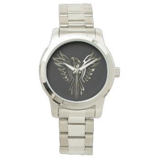 Phoenix metálica relojes de mano