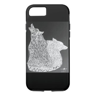 Phonecase de dos lobos funda iPhone 7