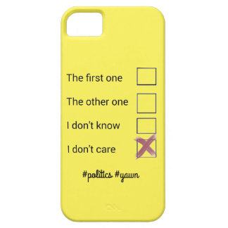 Phonecase de la política funda para iPhone SE/5/5s