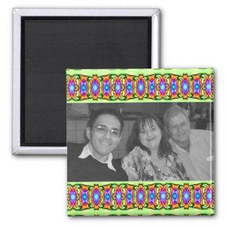 photoframe colorido brillante de las cintas imanes