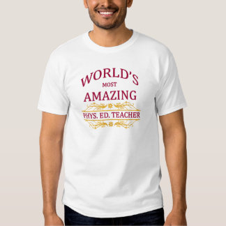 Phys. Ed. Profesor Camisetas