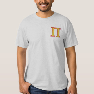 Pi Camiseta Bordada