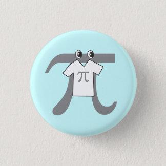 Pi que lleva el pi chapa redonda de 2,5 cm