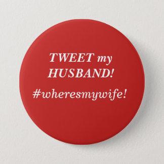 Pia mi marido, botón colorido fresco