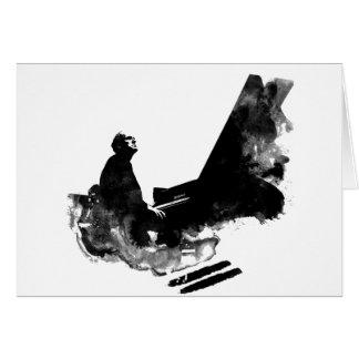 pianista tarjeta