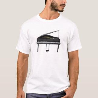 Piano de cola negro: modelo 3D: Camiseta
