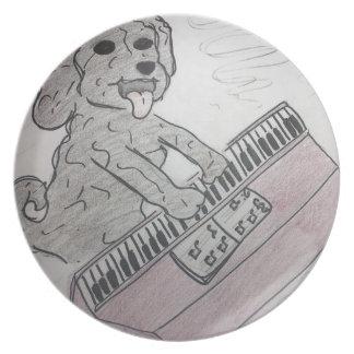 piano del perrito plato