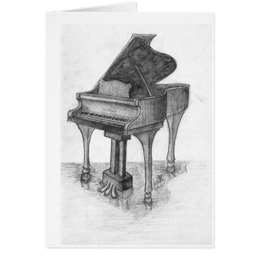 Piano en etapa tarjetón