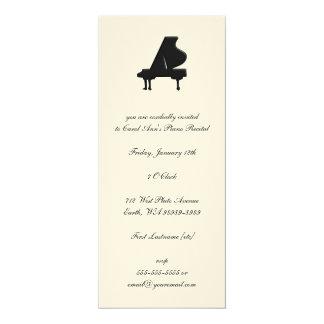 Piano Invitación 10,1 X 23,5 Cm