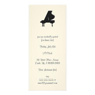 Piano Invitaciones Personalizada