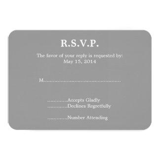 Piano que casa RSVP Invitación 8,9 X 12,7 Cm