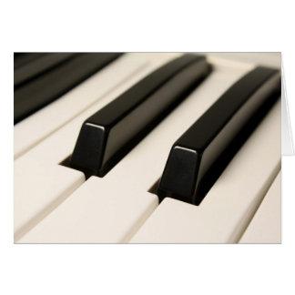 Piano Tarjeta