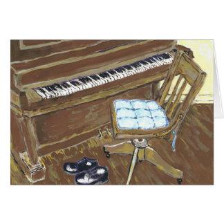 Piano y silla felicitacion