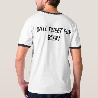 ¡Piará para la cerveza! ¡Piará para el tocino! Camiseta
