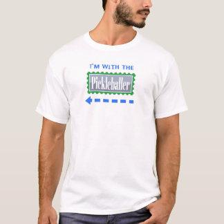 Pickleball Im con la camiseta divertida de