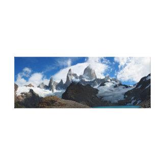 Pico de Fitz Roy Impresion De Lienzo