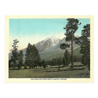 Picos de San Francisco del vintage Postal