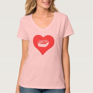 pictograma de los nachos camisetas