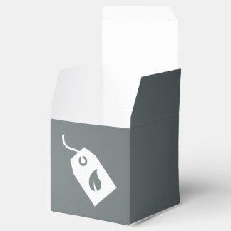 Pictograma ecológico de las cajas caja para regalo de boda