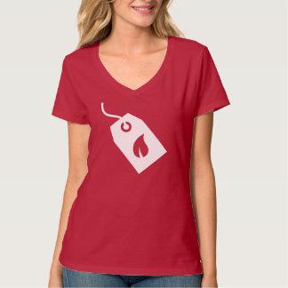 Pictograma ecológico de las cajas camisetas