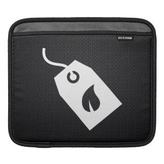 Pictograma ecológico de las cajas fundas para iPads