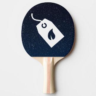 Pictograma ecológico de las cajas pala de ping pong