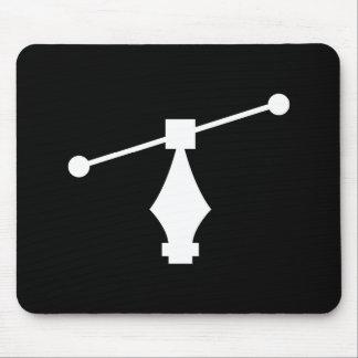 Pictograma Mousepad del vector Tapete De Raton