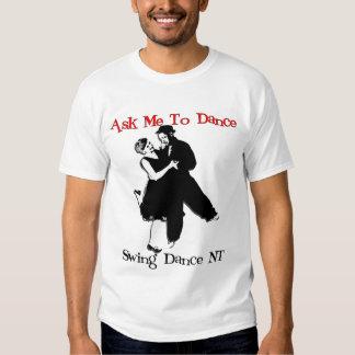 Pida que baile camisetas